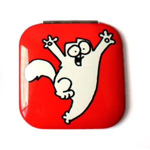 Miroir Simon's Cat rouge