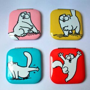 Miroirs de porche Simon's Cat, 4 couleurs disponibles