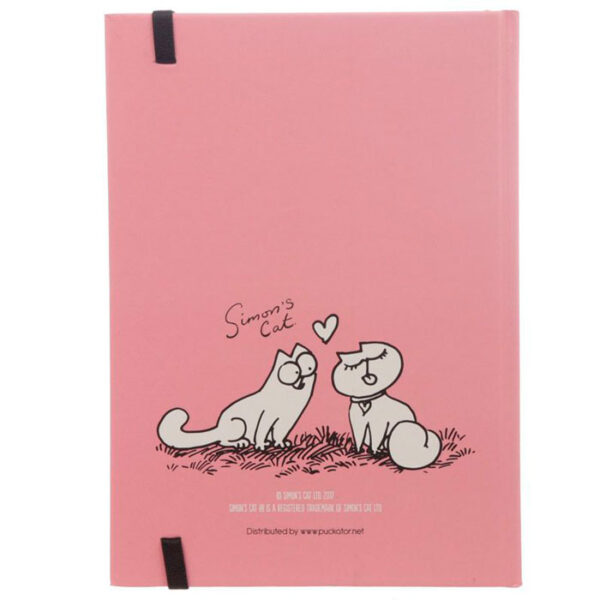 Bloc notes chat Simon's Cat