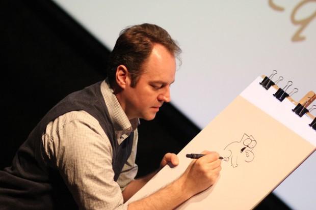 Simon Tofield, créateur de Simon's Cat
