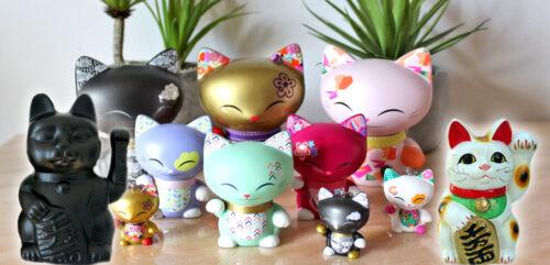 Mani the Lucky Cat et Maneki-nekos : la sens des couleurs