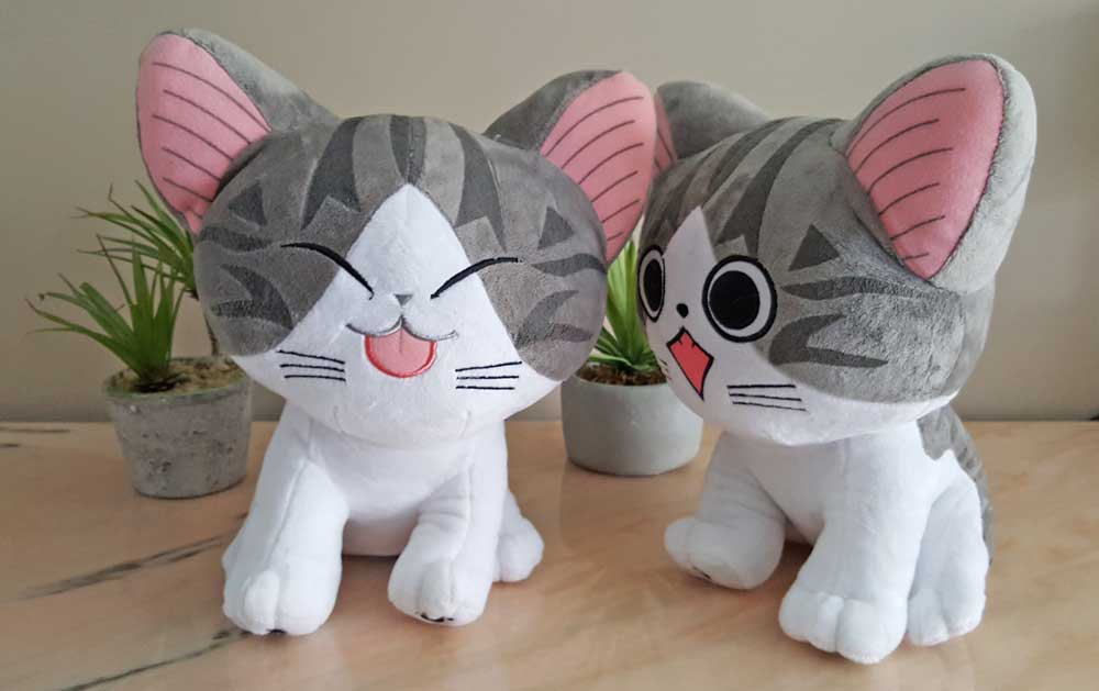 Peluches chat kawaii