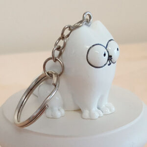Porte-clés Simon's Cat Assis