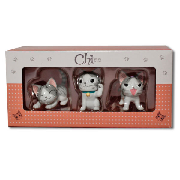 "Box de 3 petites figurines Chi ""Manekineko"""