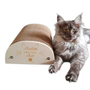"""Griffoir pour Chat """"J'habite chez mon chat"""""""
