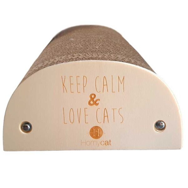 "Griffoir Chat humoristique ""Keep calm & love cats"""