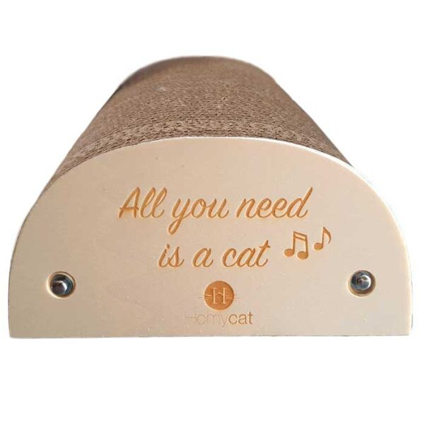 "Griffoir Chat humoristique ""All you need is a cat"""