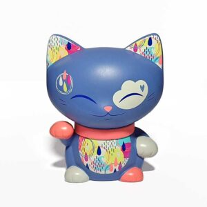 Mani the lucky cat couleur lavande