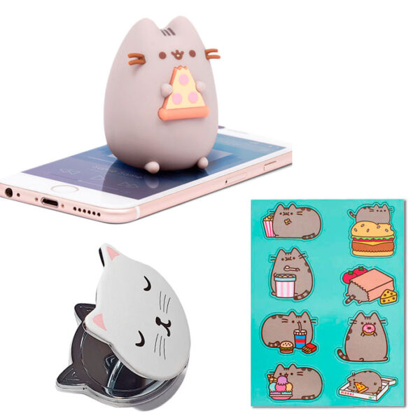 Cat box kawaii avec Pusheen et Cutie Cat