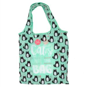 Sac de courses pliable Chat