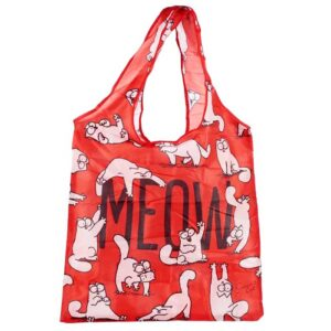 Sac de courses pliable Chat Simon's Cat