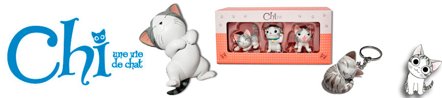 Figurines Chi une vie de chat