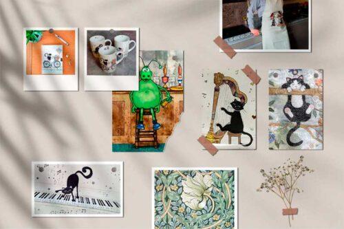 Les secrets des cadeaux Bug Art Chat