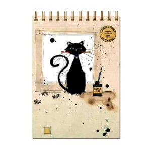 Carnet à dessin Chat noir de la collection Bug Art