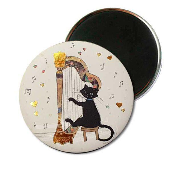 Magnet Bug Art Chat et Harpe