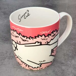 Mug Simon's Cat avec le chat Simon's cat et un chaton gris