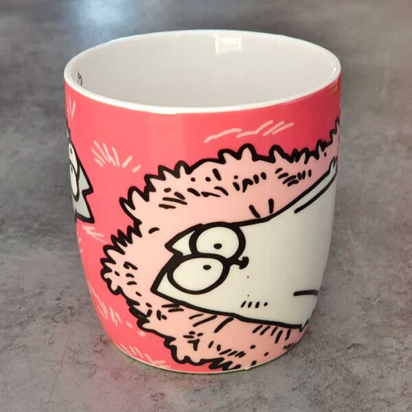 Mug Simon's Cat avec le chat Simon's cat et un chaton gris