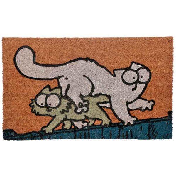 """Paillasson Chat Simon's Cat """"Chat et chaton"""""""
