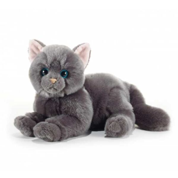 Peluche Chat Chartreux Plush and Company