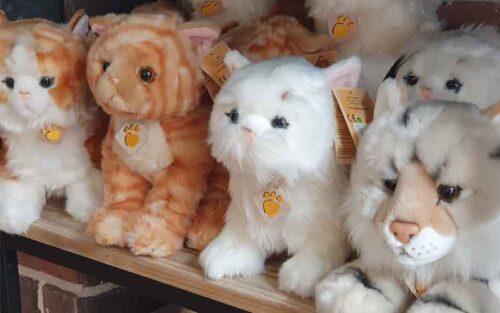Peluches chat chez Wonderful Cats et sur kdochats.com