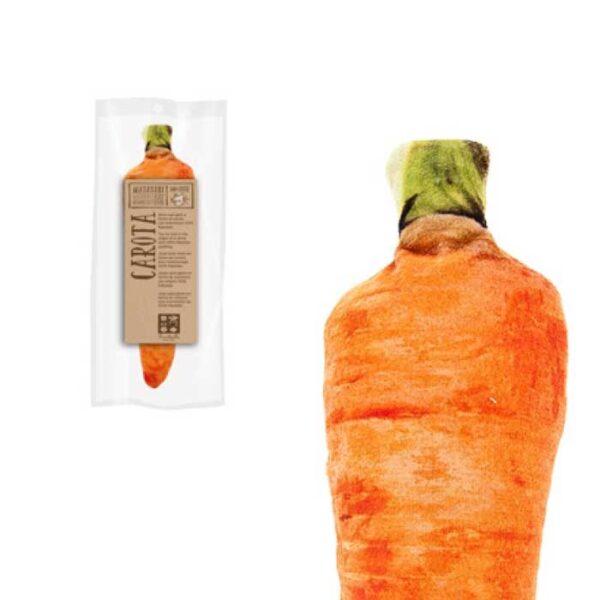 Légume carotte fourré de matatabi, jouet pour chat