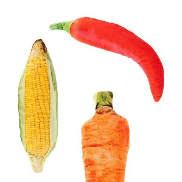 Légumes fourrés de matatabi, jouet pour chat