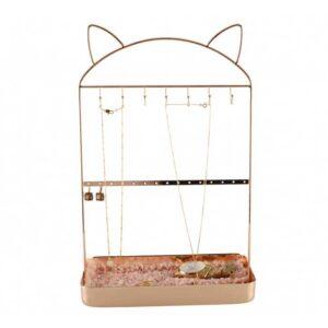 Porte bijoux avec oreilles de chat