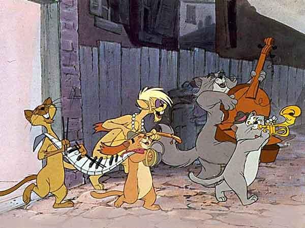 Les chats et le jazz, Scat cats dans les Artistochats