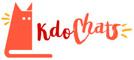 Logo Kdo Chats, animalerie et cadeaux thème chat à Dunkerque