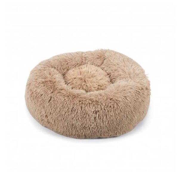 Coussin pour chat anti stress taupe